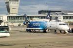 panchiさんが、ワルシャワ・フレデリック・ショパン空港で撮影したLOTポーランド航空 CL-600-2D24 Regional Jet CRJ-900ERの航空フォト(写真)