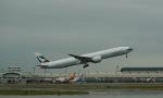 jjieさんが、北京首都国際空港で撮影したキャセイパシフィック航空 777-367/ERの航空フォト(写真)