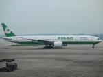 jjieさんが、北京首都国際空港で撮影したエバー航空 777-35E/ERの航空フォト(写真)