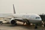 jjieさんが、北京首都国際空港で撮影したコンチネンタル航空 777-224/ERの航空フォト(写真)