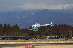 チャリチャリさんが、鹿児島空港で撮影した海上保安庁 505 Jet Ranger Xの航空フォト(写真)