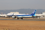 take8241さんが、伊丹空港で撮影した全日空 A321-272Nの航空フォト(写真)