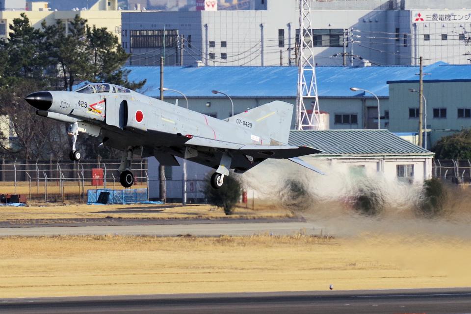 yabyanさんの航空自衛隊 Mitsubishi F-4EJ Phantom II (07-8429) 航空フォト