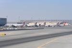 cornicheさんが、ドーハ・ハマド国際空港で撮影したカタール航空カーゴ 777-FDZの航空フォト(飛行機 写真・画像)