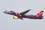 mameshibaさんが、香港国際空港で撮影したエアアジア A320-216の航空フォト(写真)