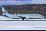 Chofu Spotter Ariaさんが、新千歳空港で撮影した大韓航空 737-9B5/ER の航空フォト(飛行機 写真・画像)