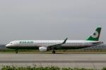 ハピネスさんが、関西国際空港で撮影したエバー航空 A321-211の航空フォト(飛行機 写真・画像)