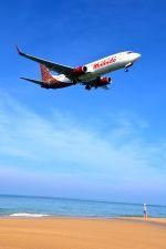 まいけるさんが、プーケット国際空港で撮影したマリンド・エア 737-8GPの航空フォト(写真)