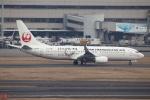 SKYLINEさんが、羽田空港で撮影した日本トランスオーシャン航空 737-8Q3の航空フォト(飛行機 写真・画像)
