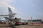 ★azusa★さんが、シンガポール・チャンギ国際空港で撮影したダッソー・アビエーション Falcon 2000LXの航空フォト(写真)