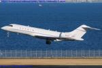 Chofu Spotter Ariaさんが、羽田空港で撮影したClassic Service II LLC BD-700-1A10 Global Expressの航空フォト(飛行機 写真・画像)