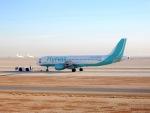 cornicheさんが、キング・ハーリド国際空港で撮影したフライナス A320-214の航空フォト(飛行機 写真・画像)