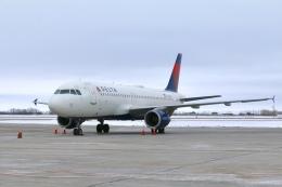DREAMWINGさんが、グランドフォークス国際空港で撮影したデルタ航空 A320-211の航空フォト(飛行機 写真・画像)