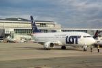 panchiさんが、ワルシャワ・フレデリック・ショパン空港で撮影したLOTポーランド航空 737-45Dの航空フォト(写真)