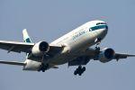 まいけるさんが、スワンナプーム国際空港で撮影したキャセイパシフィック航空 777-267の航空フォト(写真)