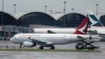 westtowerさんが、香港国際空港で撮影したキャセイドラゴン A320-232の航空フォト(写真)