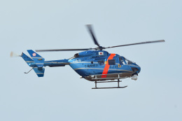 tsubasa0624さんが、成田国際空港で撮影した千葉県警察 BK117C-1の航空フォト(写真)