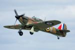 Tomo-Papaさんが、フェアフォード空軍基地で撮影したイギリス企業所有 Hurricane Mk1の航空フォト(写真)
