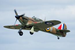 Tomo-Papaさんが、フェアフォード空軍基地で撮影したイギリス企業所有 Hurricane Mk1の航空フォト(飛行機 写真・画像)