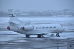 Dojalanaさんが、函館空港で撮影したスイス企業所有 Falcon 7Xの航空フォト(飛行機 写真・画像)