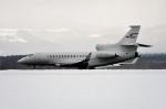 Dojalanaさんが、函館空港で撮影したスイス企業所有 Falcon 7Xの航空フォト(写真)