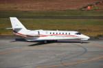 kumagorouさんが、仙台空港で撮影した朝日航洋 680 Citation Sovereignの航空フォト(写真)