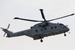 ちゅういちさんが、朝霞駐屯地で撮影した海上自衛隊 MCH-101の航空フォト(写真)