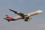 BTYUTAさんが、インディラ・ガンディー国際空港で撮影したモーリシャス航空 A340-312の航空フォト(飛行機 写真・画像)