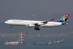 xingyeさんが、香港国際空港で撮影した南アフリカ航空 A340-313Xの航空フォト(写真)