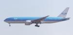 BIRDさんが、成田国際空港で撮影したKLMオランダ航空 777-206/ERの航空フォト(写真)