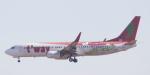 BIRDさんが、成田国際空港で撮影したティーウェイ航空 737-8Q8の航空フォト(飛行機 写真・画像)
