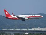 鷹71さんが、台北松山空港で撮影した上海航空 737-86Dの航空フォト(写真)