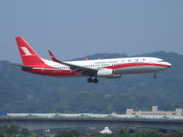 鷹71さんが、台北松山空港で撮影した上海航空 737-86Dの航空フォト(飛行機 写真・画像)