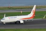 SFJ_capさんが、関西国際空港で撮影した奥凱航空 737-8FHの航空フォト(写真)