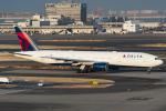 D-AWTRさんが、羽田空港で撮影したデルタ航空 777-232/ERの航空フォト(写真)