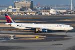 D-AWTRさんが、羽田空港で撮影したデルタ航空 A330-302の航空フォト(写真)