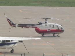 りんたろうさんが、函館空港で撮影した読売新聞 Bo 105Sの航空フォト(写真)