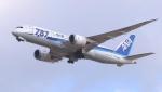 撮り撮り人さんが、岡山空港で撮影した全日空 787-8 Dreamlinerの航空フォト(写真)