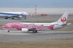 セブンさんが、関西国際空港で撮影した日本トランスオーシャン航空 737-446の航空フォト(飛行機 写真・画像)