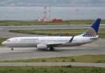 セブンさんが、関西国際空港で撮影したコンチネンタル航空 737-824の航空フォト(飛行機 写真・画像)