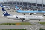 セブンさんが、関西国際空港で撮影したMIATモンゴル航空 737-8CXの航空フォト(飛行機 写真・画像)