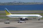 セブンさんが、羽田空港で撮影したAIR DO 767-33A/ERの航空フォト(飛行機 写真・画像)