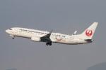 青春の1ページさんが、福岡空港で撮影した日本トランスオーシャン航空 737-8Q3の航空フォト(写真)