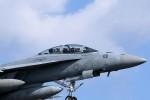 バイクオヤジさんが、厚木飛行場で撮影したアメリカ海軍 F/A-18F Super Hornetの航空フォト(写真)