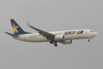OMAさんが、那覇空港で撮影したスカイマーク 737-8FHの航空フォト(写真)