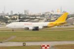 OMAさんが、嘉手納飛行場で撮影したカリッタ エア 747-4H6M(BCF)の航空フォト(写真)