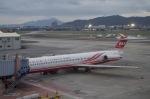 SOMAさんが、台北松山空港で撮影した遠東航空 MD-82 (DC-9-82)の航空フォト(写真)