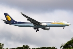 Ariesさんが、シンガポール・チャンギ国際空港で撮影したジェットエアウェイズ A330-302の航空フォト(写真)