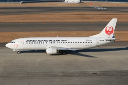 SIさんが、中部国際空港で撮影した日本トランスオーシャン航空 737-446の航空フォト(写真)