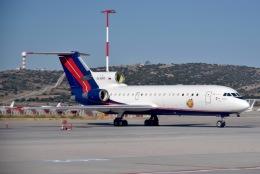 cornicheさんが、エレフテリオス・ヴェニゼロス国際空港で撮影したRusJet Yak-42Dの航空フォト(飛行機 写真・画像)
